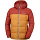 Columbia Pike Lake Hooded Jacket Mens Rusty/Canyon Gold